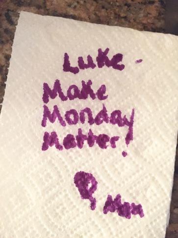 Make Monday Matter!